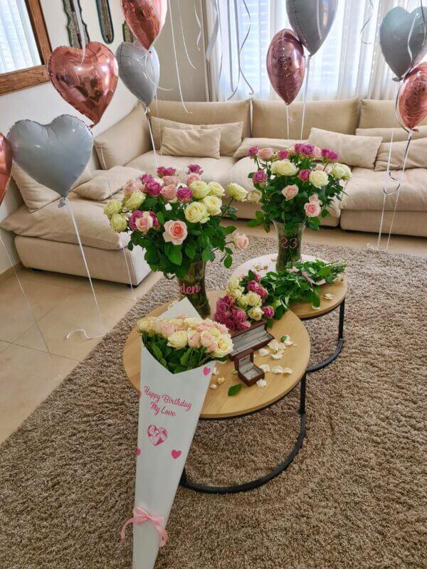 קונוס פרחים
